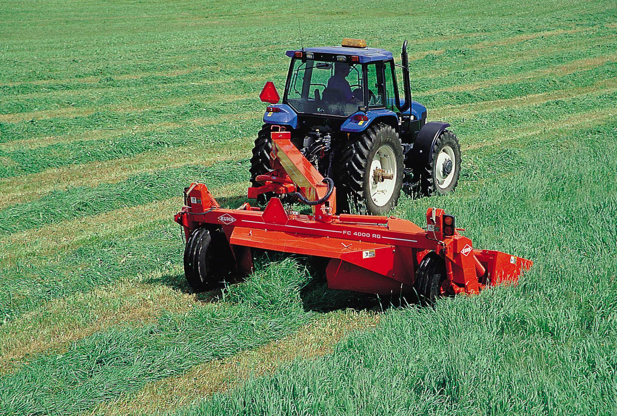 Agricultural Machinery And Equipment : Kuhn hay machinery mowers and mower conditioners