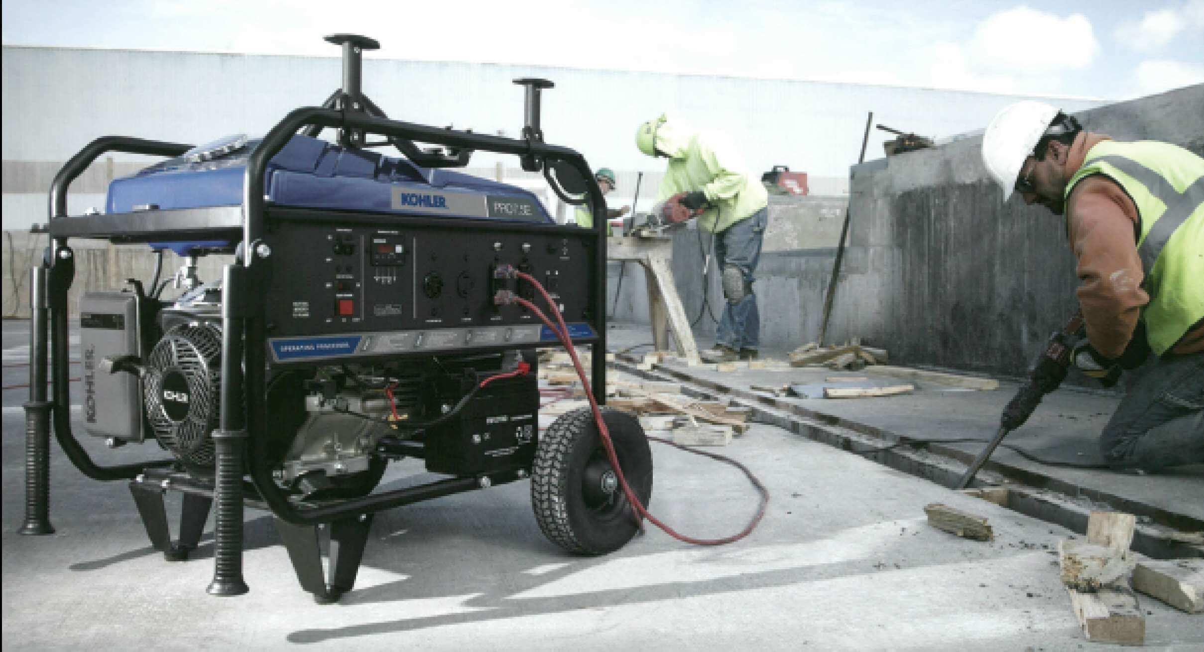 Kohler Petrol Generators - 3 5 to 7 5kW | Fred Hopkins