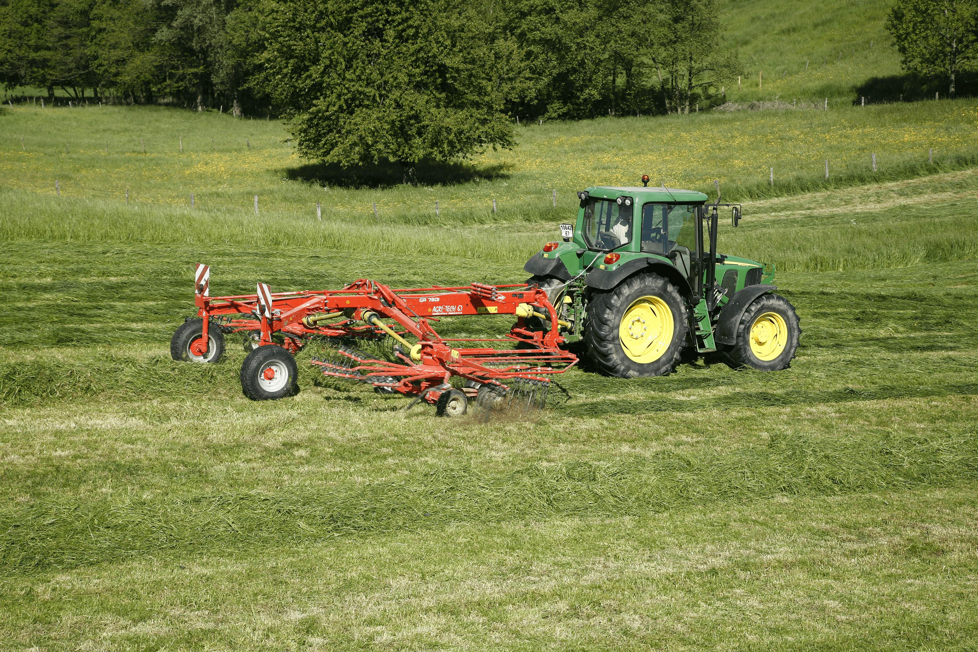 Kuhn - Hay Machinery - Gyrorakes